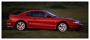 1998 SVT Mustang Cobra - Action