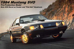 1984 Mustang SVO -- Pre-Production Model